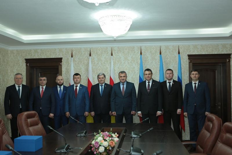 Встреча с Главой Луганской Народной Республики Леонидом Пасечником