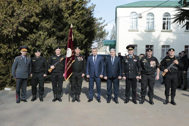 27-я годовщина образования ОМОН МВД Республики Южная Осетия