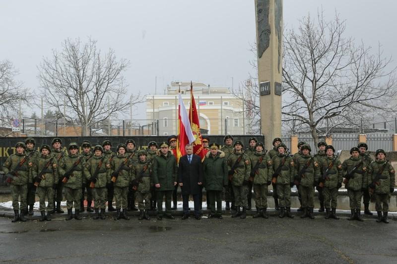 Анатолий Бибилов: «Служба в рядах Вооруженных сил – честь для каждого молодого человека»