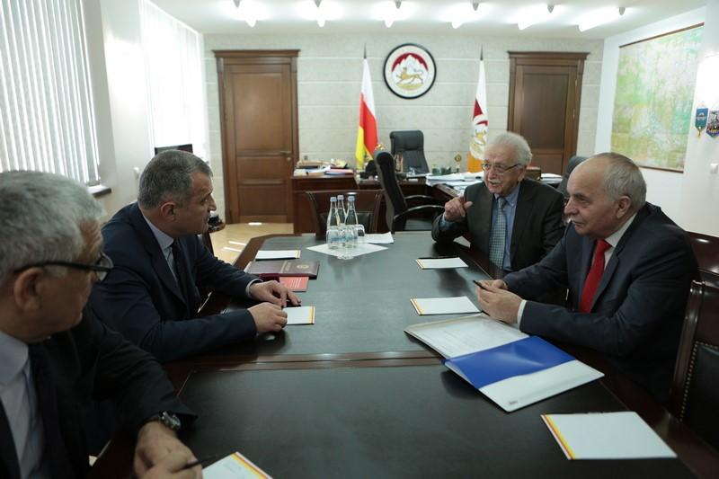 Встреча с главой Ассоциации строителей России Николаем Кошманом