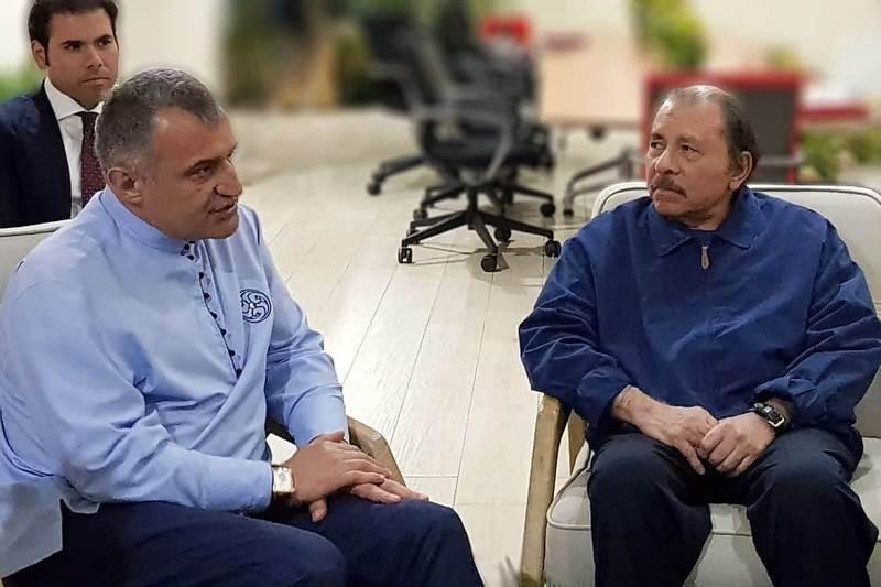 Встреча с Президентом Республики Никарагуа Даниэлем Ортегой