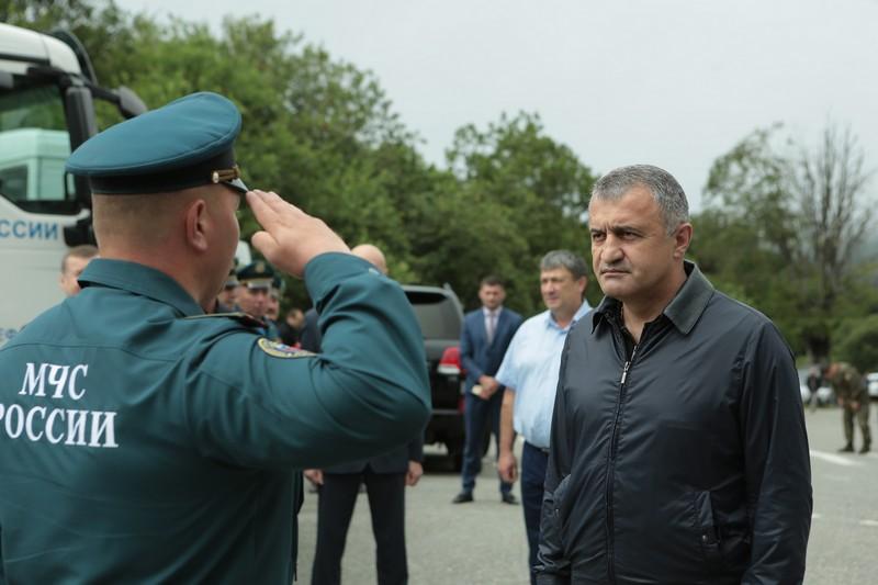 Встреча с саперами Центра «Лидер» МЧС России