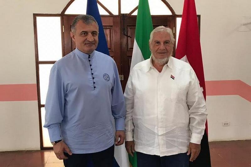 Продолжается рабочий визит Анатолия Бибилова в Республику Никарагуа