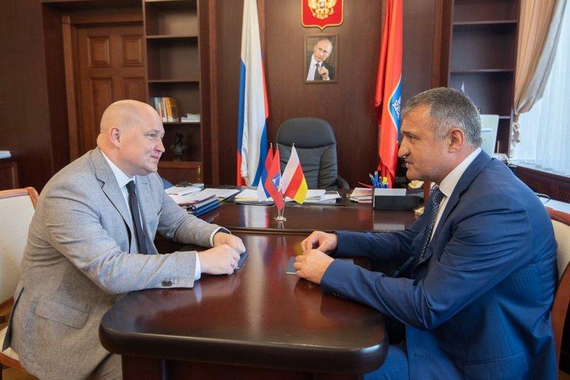 Встреча с Врио Губернатора Севастополя Михаилом Развожаевым