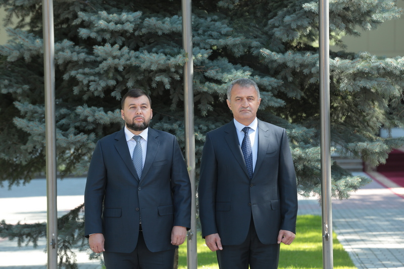 Встреча с Главой Донецкой Народной Республики Денисом Пушилиным