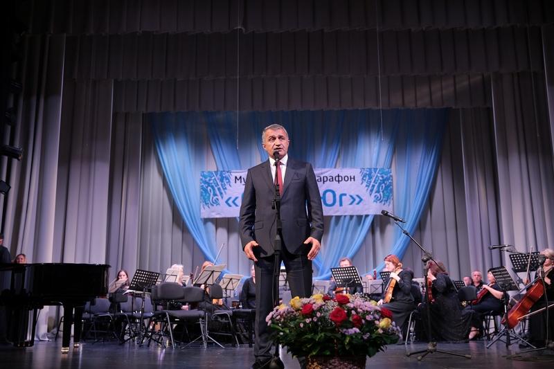Анатолий Бибилов посетил концерт сводного симфонического оркестра Северо-Кавказского федерального округа