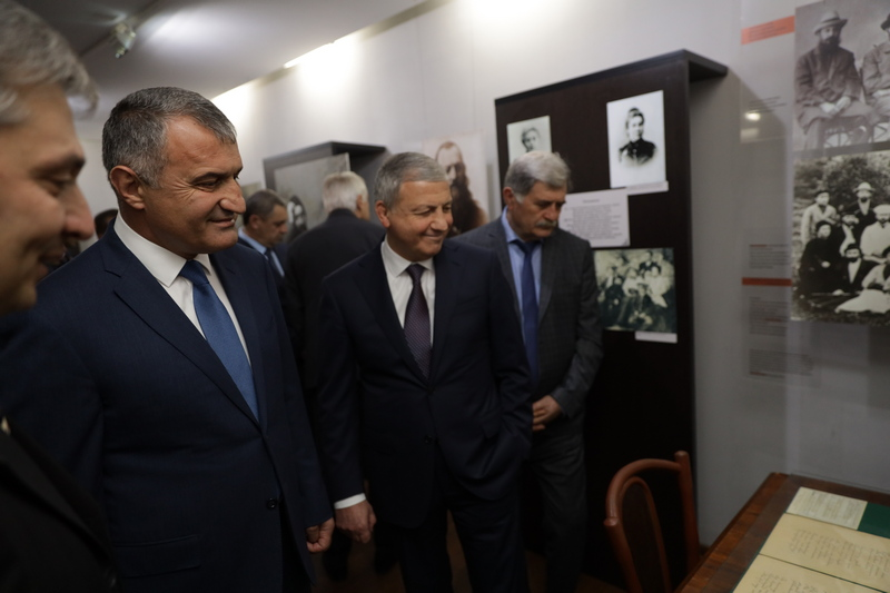 Празднование 160-летия со дня рождения Коста Хетагурова