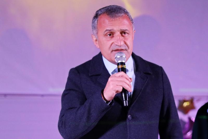 Анатолий Бибилов посетил церемонию открытия первого в Южной Осетии планетария