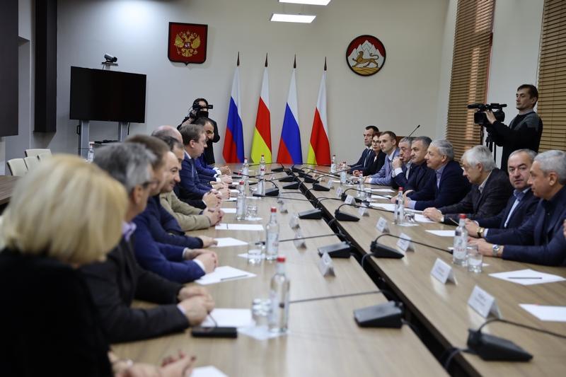 Встреча с членами Совета Федерации Российской Федерации