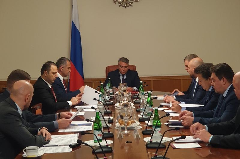 Анатолий Бибилов принял участие в заседании Попечительского совета СОО «МФРБ»