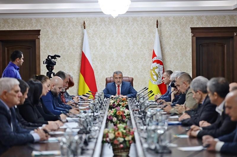 Заседание Комиссии по вопросам мемориализации геноцида осетин