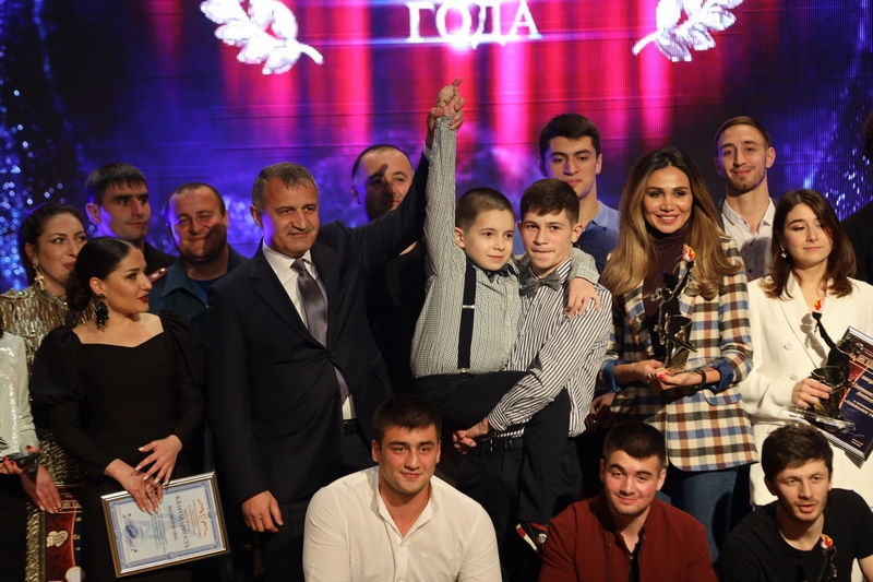 Анатолий Бибилов: «Руководство Южной Осетии будет и дальше поддерживать наши таланты»