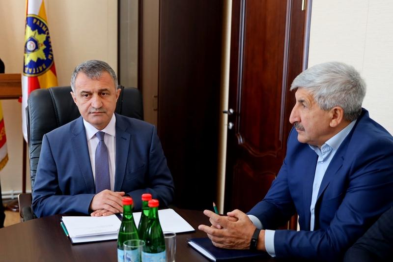 Анатолий Бибилов принял участие в отчетной коллегии Службы внешней разведки