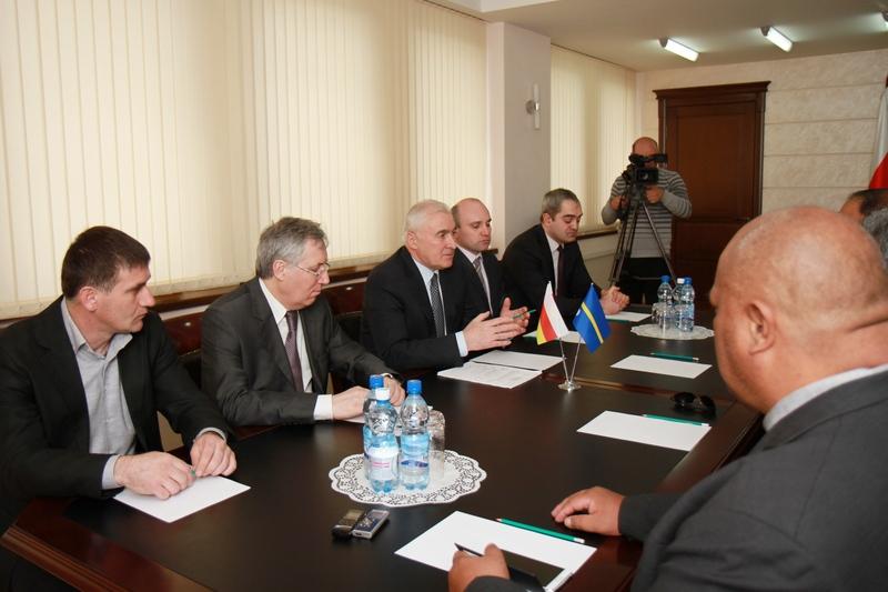 Встреча с делегацией Науру