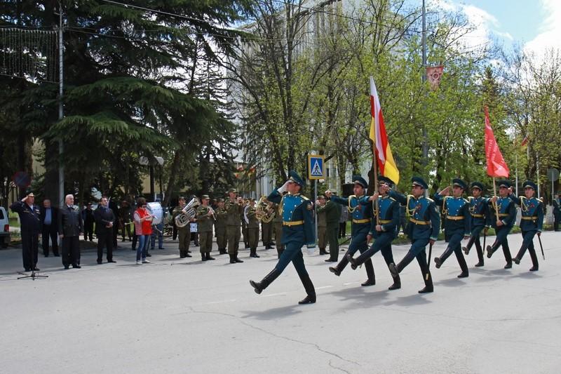 Генеральная репетиция военного парада в честь 70-летия Великой Победы