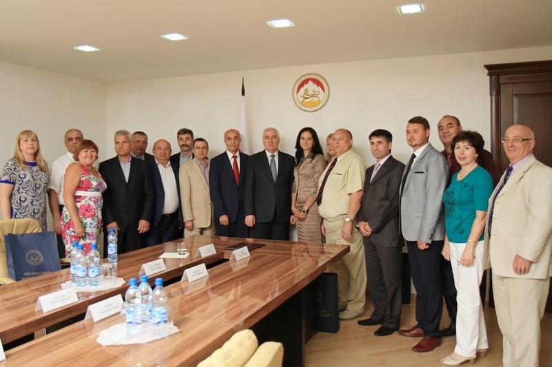 Встреча с представителями этнокультурной экспедиции «От волжских берегов – до гор Осетии»