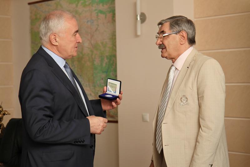 Встреча с известным артистом театра и кино Александром Панкратовым-Черным