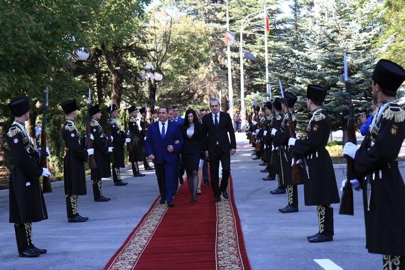 Встреча с Главой Луганской Народной Республики Игорем Плотницким (часть I)
