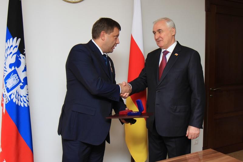 Встреча с Главой Донецкой Народной Республики Александром Захарченко (часть II)