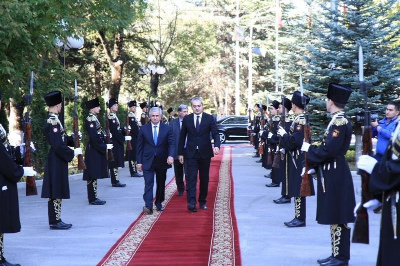 Встреча с Президентом Республики Абхазия Раулем Хаджимба