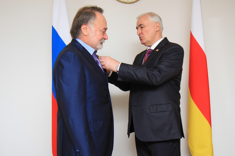 Встреча с Главой Республики Северная Осетия-Алания Тамерланом Агузаровым (часть II)