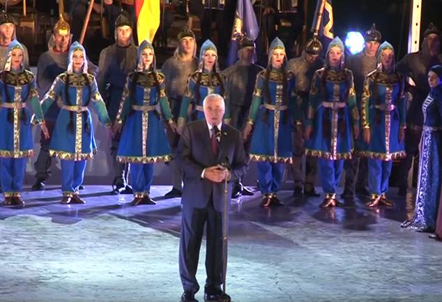 Выступление на гала-концерте в честь празднования 25-й годовщины Республики Южная Осетия