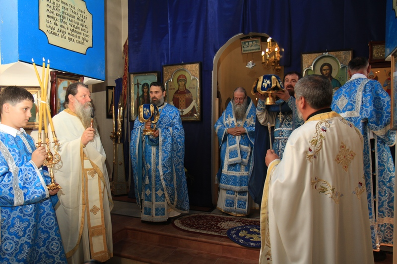 Праздничное Богослужение в честь Рождества Пресвятой Богородицы