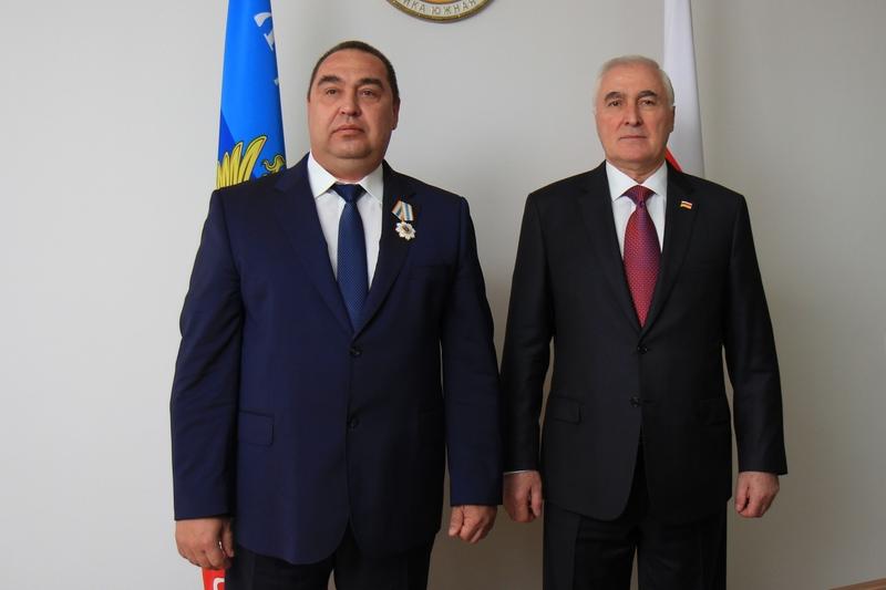 Встреча с Главой Луганской Народной Республики Игорем Плотницким (часть II)