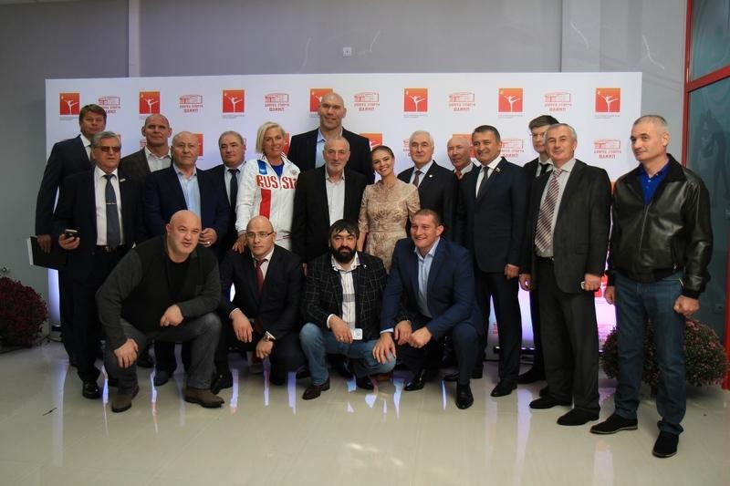 Церемония открытия Дворца спорта «Олимп», построенного под патронатом Благотворительного фонда Алины Кабаевой (часть II)
