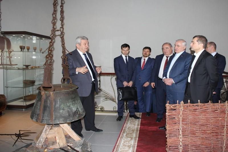 Рабочий визит помощника Президента Российской Федерации Владислава Суркова в Республику Южная Осетия