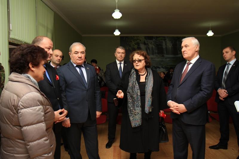 Церемония открытия Дома культура в селе Корнис Знаурского района (часть II)