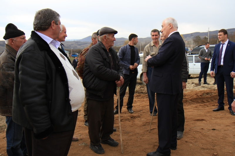 Церемония открытия Дома культуры в селе Корнис Знаурского района (часть I)