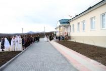 2. Церемония открытия средней общеобразовательной школы в селе Корнис Знаурского района (часть I)