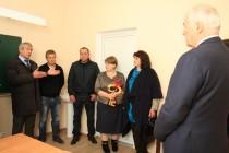 2. Церемония открытия средней общеобразовательной школы в селе Корнис Знаурского района (часть II)