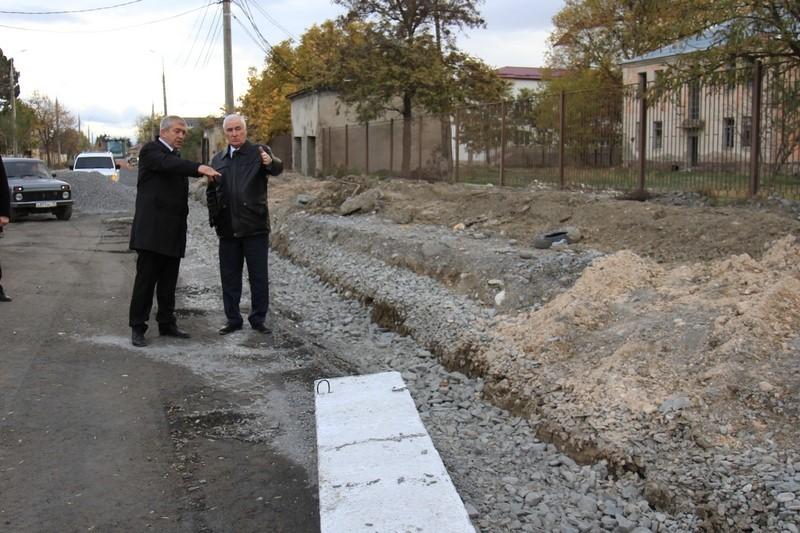 Инспекция столичной улицы Осетинская