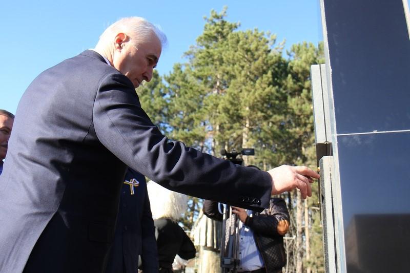 Церемония открытия мемориального комплекса в селе Дменис Цхинвальского района (часть II)
