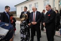 7. Церемония открытия средней общеобразовательной школы в селе Корнис Знаурского района (часть II)