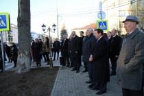 4. Церемония открытия ул. Октябрьская г. Цхинвал и инспекция хода строительства здания Госдрамтеатра (часть II)