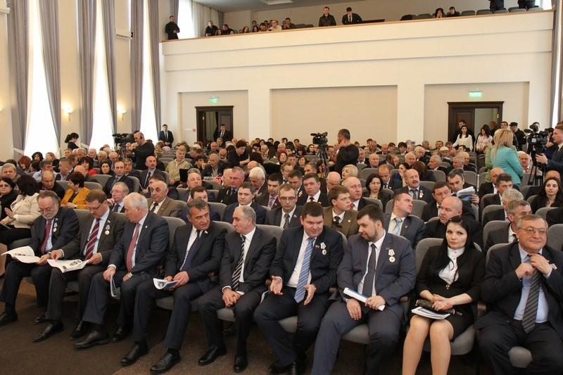 Торжественное заседание, посвященное 25-летию парламентаризма Республики Южная Осетия (часть I)