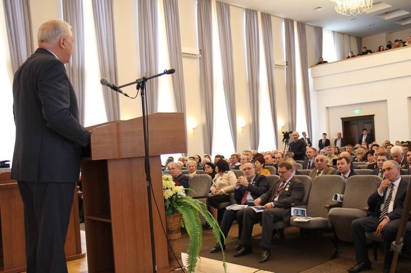 Торжественное заседание, посвященное 25-летию парламентаризма Республики Южная Осетия (часть II)