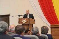 1. Торжественное заседание, посвященное 25-летию парламентаризма Республики Южная Осетия (часть III)