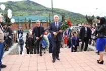 1. Траурное мероприятие, посвященное 25-ой годовщине разрушительного землетрясения в Дзауском районе (часть I)
