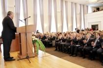2. Торжественное заседание, посвященное 25-летию парламентаризма Республики Южная Осетия (часть I)