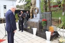 2. Траурное мероприятие, посвященное 25-ой годовщине разрушительного землетрясения в Дзауском районе (часть I)
