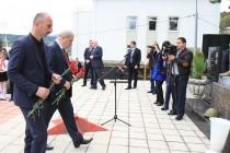 3. Траурное мероприятие, посвященное 25-ой годовщине разрушительного землетрясения в Дзауском районе (часть I)