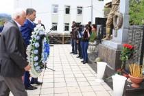 4. Траурное мероприятие, посвященное 25-ой годовщине разрушительного землетрясения в Дзауском районе (часть I)