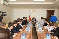 4. Встреча с членами футбольной командой «Барсаланы»