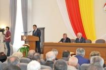 5. Торжественное заседание, посвященное 25-летию парламентаризма Республики Южная Осетия (часть I)