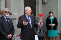 5. Церемония открытия мемориальной доски выдающемуся осетинскому художнику Григорию Котаеву