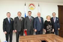 6. Встречи с делегациями, прибывшими в Цхинвал по случаю празднования 25-летия образования Парламента Республики Южная Осетия (часть III)